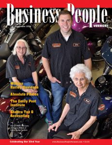 Business People Vermont September 2016 Issue featuring Diana Sheltra of Sheltra Tax & Accounting, LLC